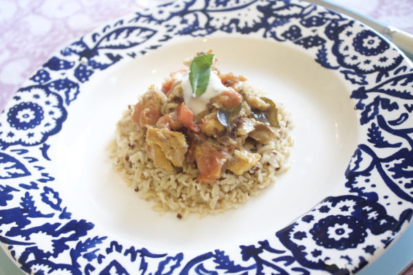 Suffolk frozen meal fish curry